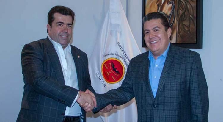 Se reúne Rector de la UABCS con el Senador Pedro Haces