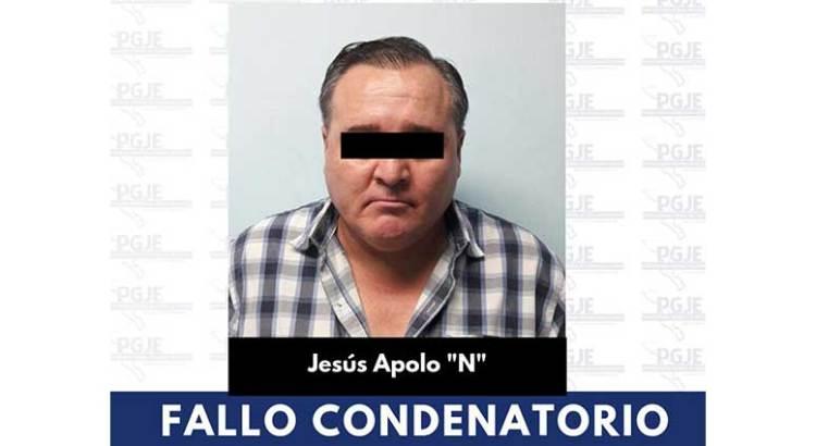 Diez años de prisión para Apolo