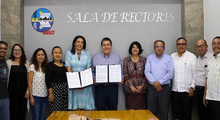 Firman UABCS y Cómo Vamos La Paz convenio de colaboración