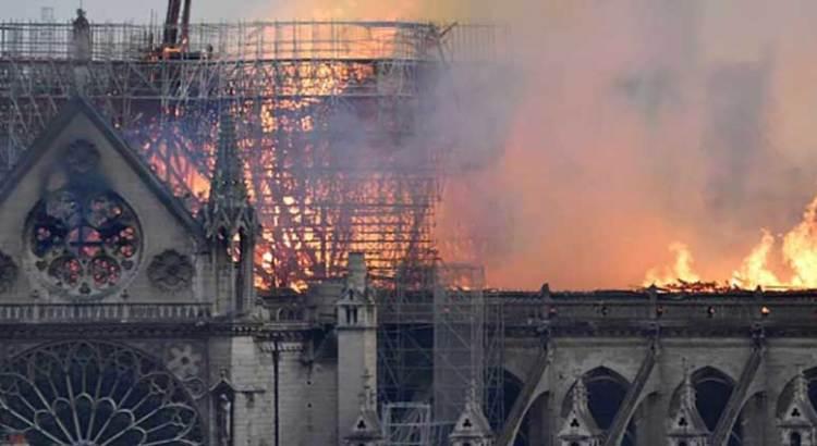 Ofrece México apoyo para reconstrucción de Notre Dame