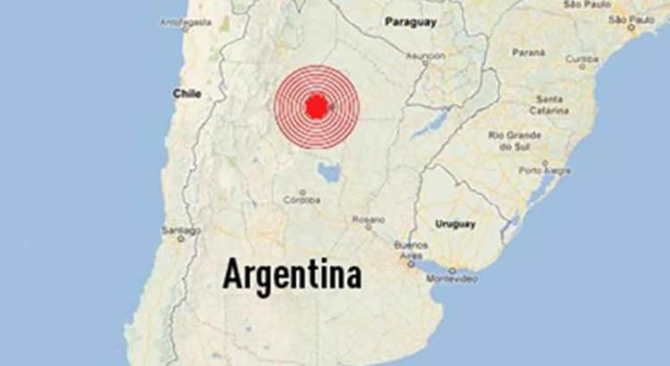 También tembló en Argentina y Chile