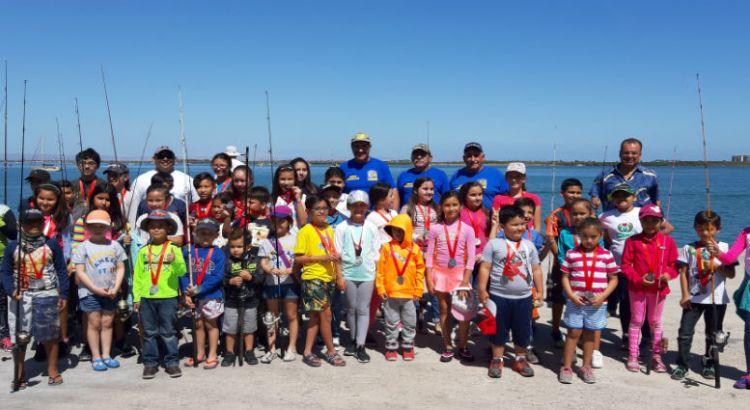 Exitoso Torneo Infantil de Pesca de Orilla