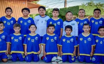Viaja selección de fútbol al Nacional Sub 8