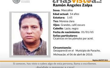 ¿Has visto a Ramón Angeles Zalpa?