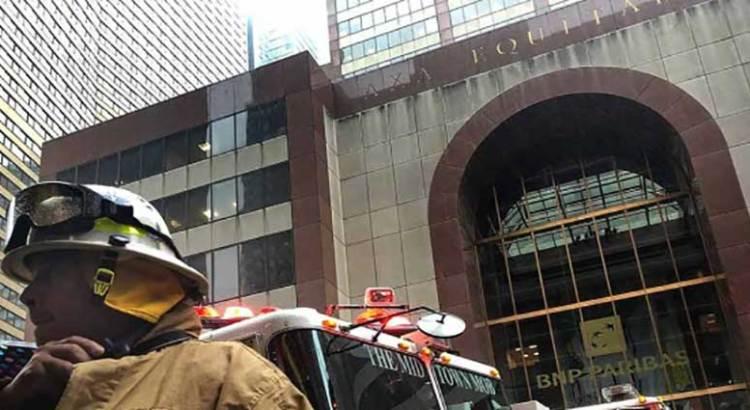 Fue accidente el choque de helicóptero en NY