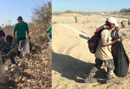 Jornada de limpieza en arroyo Aguajitos