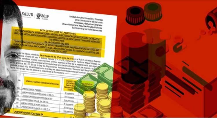 El Superdelegado Lomelí pretende vender medicamentos al gobierno de AMLO