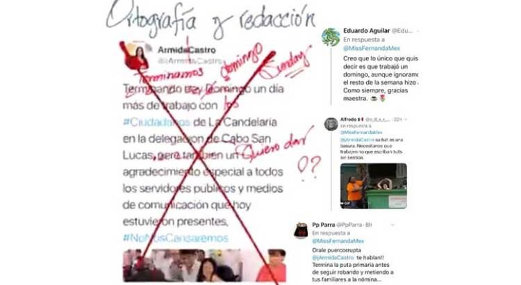 """Regaña """"Miss Fernanda"""" a Armida Castro"""
