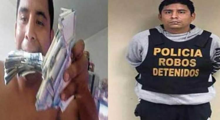 Por presumir su botín en Facebook lo ubicó la policía