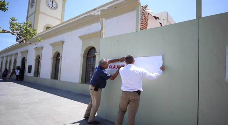 Sin dictamen del INAH tiraron edificio en el Centro de SJC