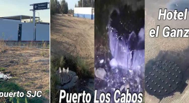 """Continúa Eduardo Sánchez Navarro """"regándola"""" con aguas negras"""