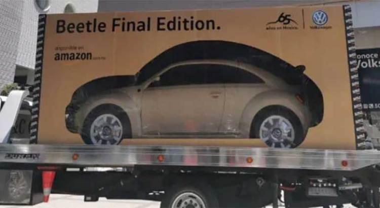 Compró su Beetle por Amazon