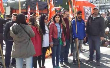 Realizan mega marcha en Argentina