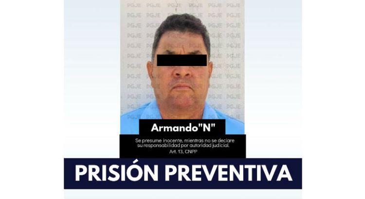 Prisión preventiva para presunto homicida de El Zacatal