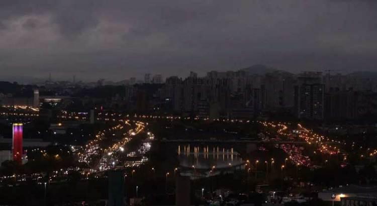 Oscureció en Brasil