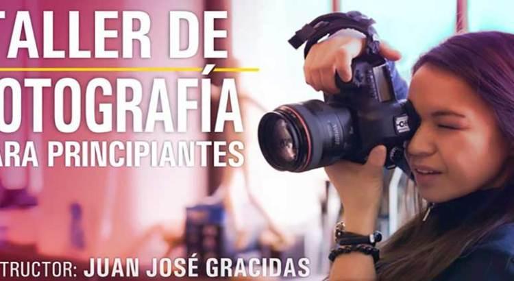 Invitan a taller de fotografía para principiantes
