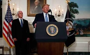 Da Trump condolencias a México