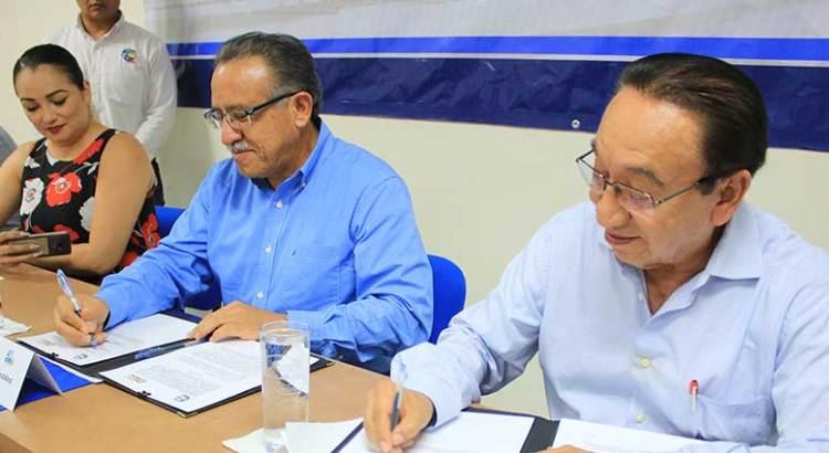 Celebra UABCS convenio de colaboración con la CROC