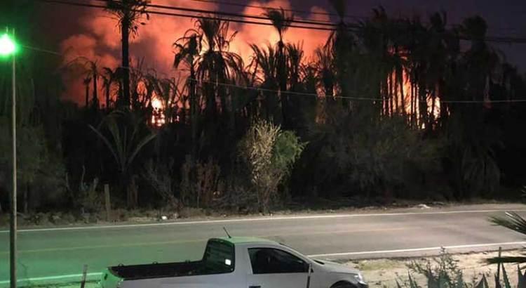 Otro incendio en San Ignacio
