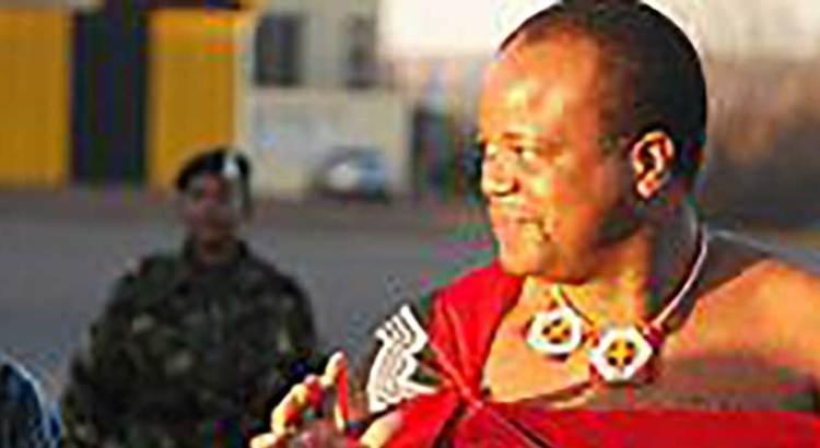 Arribó a Los Cabos el Rey de eSwatini