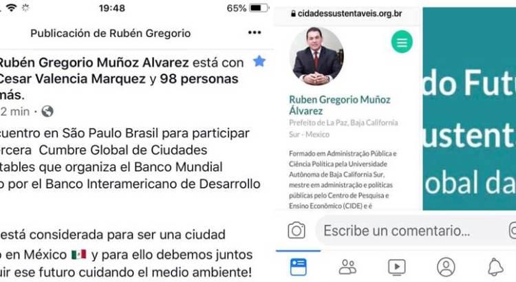 Rubén Muñoz, un alcalde que gobierna por Whatsapp