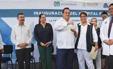 Inaugura Gobernador nuevo hospital psiquiátrico en La Paz