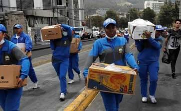 Ecuador en calma