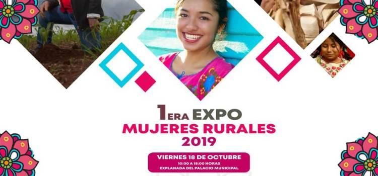 Invitan a la Primer Expo Mujer Rural