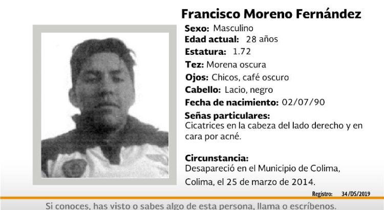 ¿Has visto a Francisco Moreno Fernández?