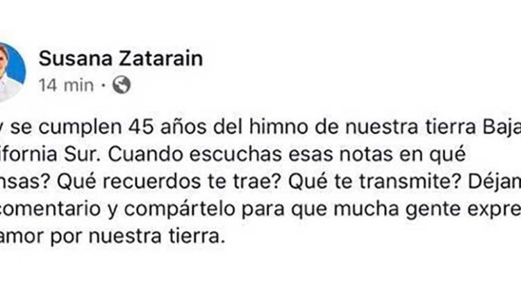 La nueva pifia de Susana Zatarain