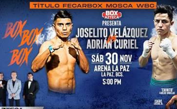 Sábado de Box en la Arena La Paz