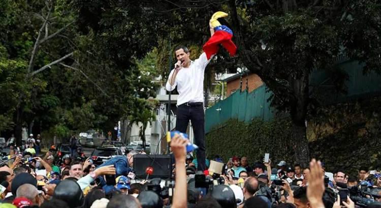 A protestar hasta que caiga Maduro