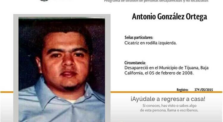 ¿Has visto a Antonio González Ortega?