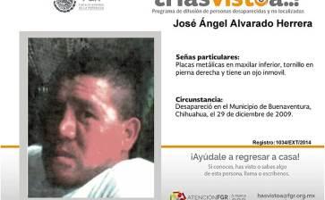 ¿Has visto a José Angel Alvarado Herrera?
