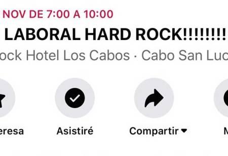 A paro el Hotel Hard Rock Los Cabos