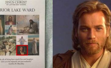 Confundieron mormones a Obi-Wan Kenobi con Jesús