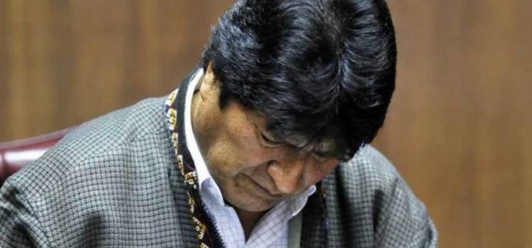 Evo Morales deja México