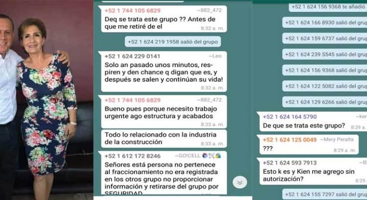 Usa activista de Ernesto Ibarra datos personales para promocionar su imagen
