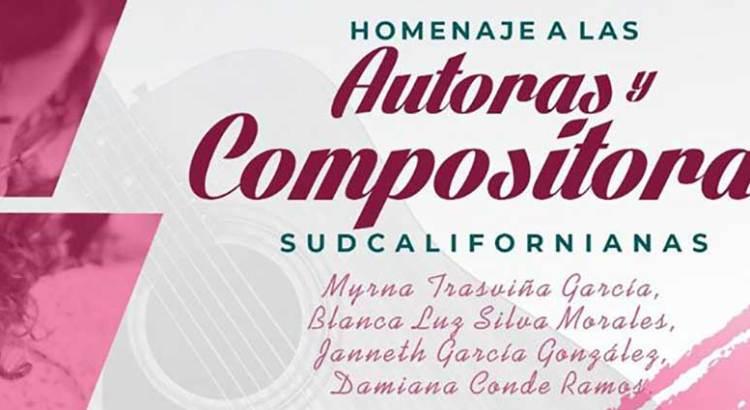 Homenaje de las Autoras y Compositoras Sudcalifornianas