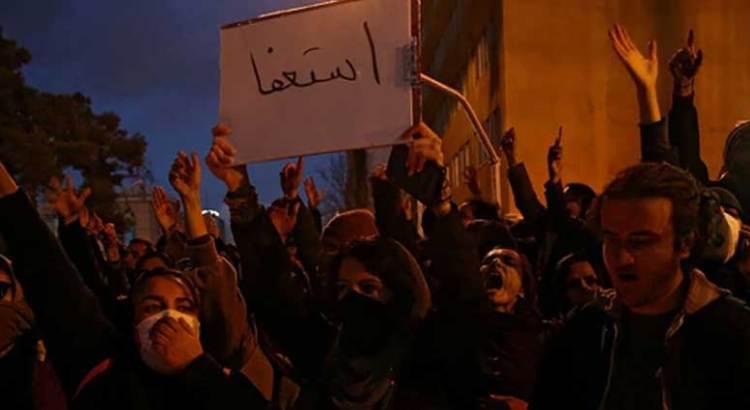 Crecen protestas en Irán