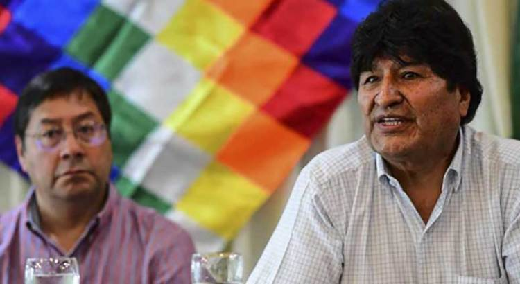 Bloquean postulación de Evo Morales