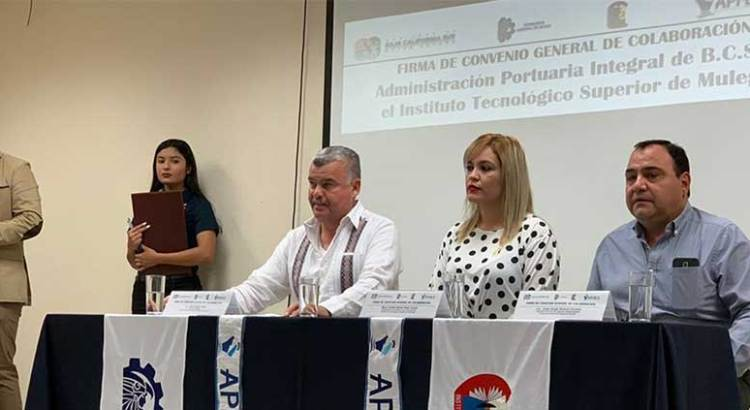 Firman convenio APIBCS e ITESME
