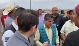 Destrabó Alcalde de Mulege conflicto de transportistas
