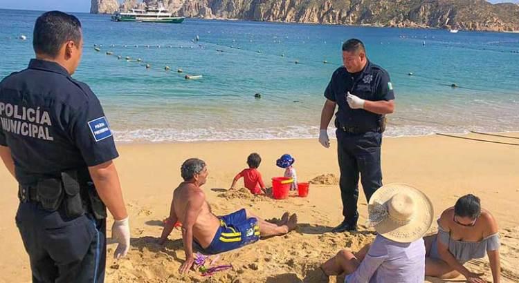 Más de 700 personas han sido retiradas de las playas cabeñas