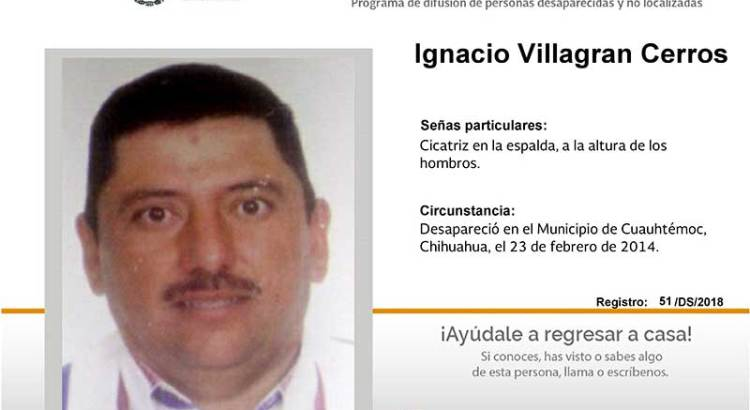 ¿Has visto a Ignacio Villagran Cerros?