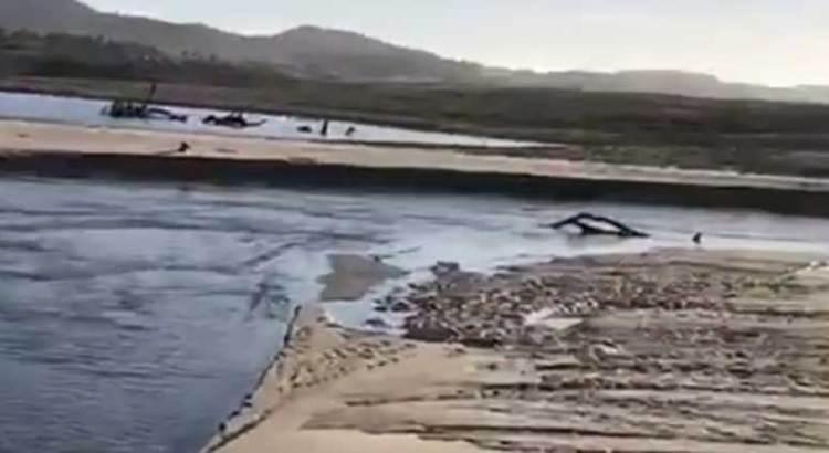 Continúan vertiendo aguas negras en el Estero de SJC