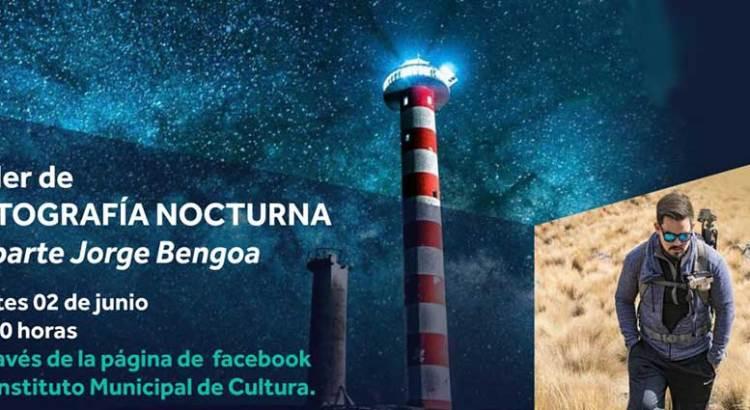 Invitan a Taller de Fotografía Nocturna en línea