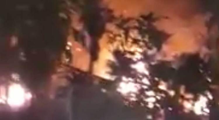 Se incendian los Palmares de Mulegé