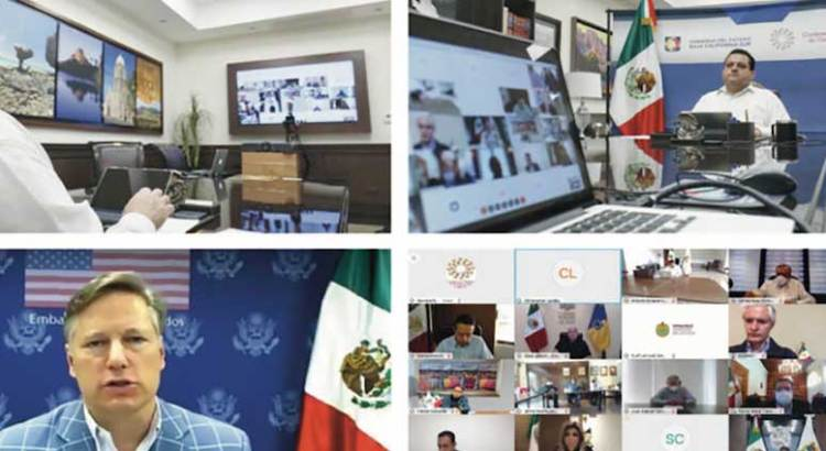 Se reúne CONAGO con Embajador de Estados Unidos en México