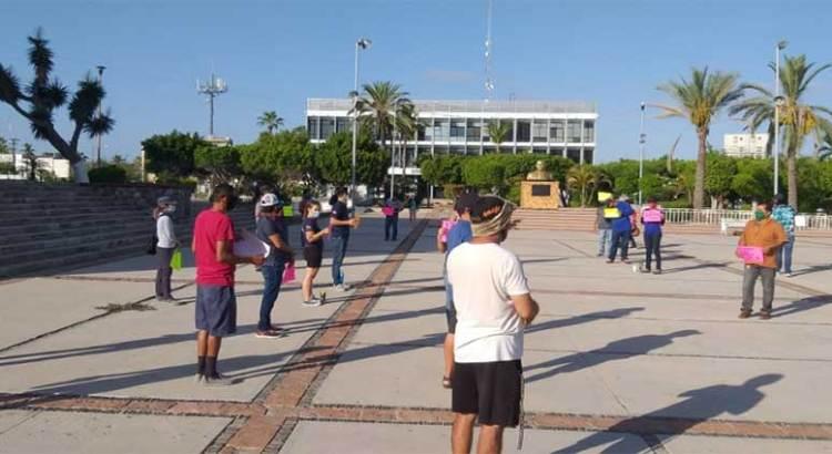 Se manifestaron prestadores de servicios turísticos de La Paz